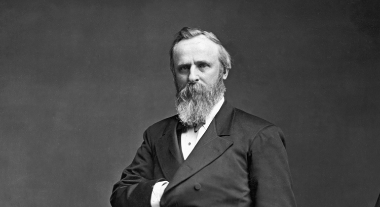 Rutherford B. Hayes -19th President of  United States