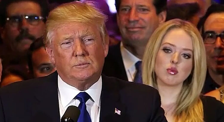 Tiffany Trump is the youngest of Donald Trump's daughters