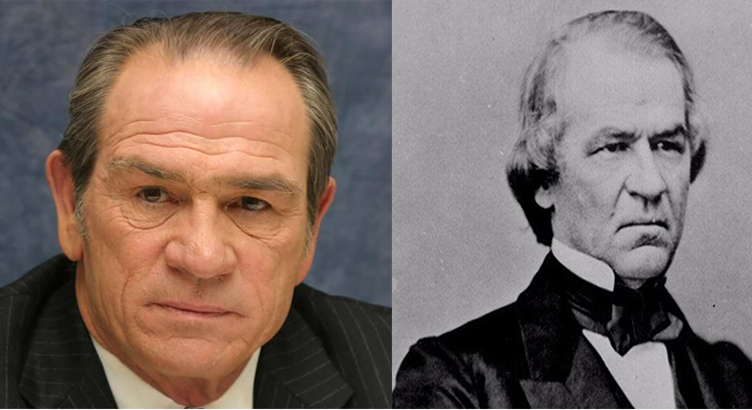 Tommy Lee Jones as Andrew Johnson