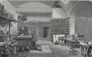 Faraday's Laboratory at the Royal Institution