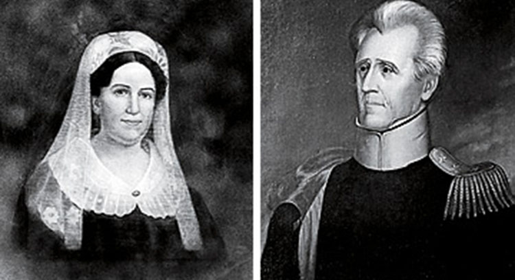 Rachel Donelson and Andrew Jackson