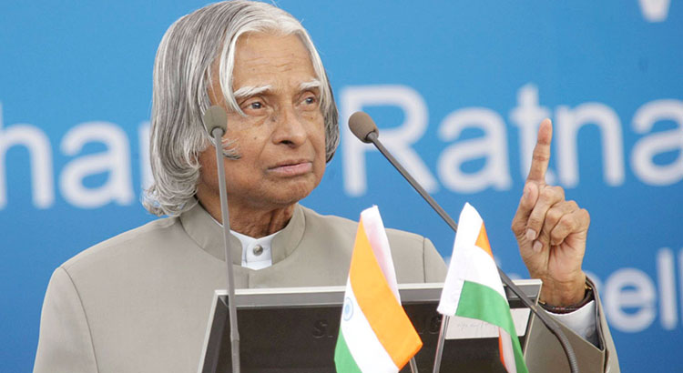 A.P. J Abdul Kalam – President of India