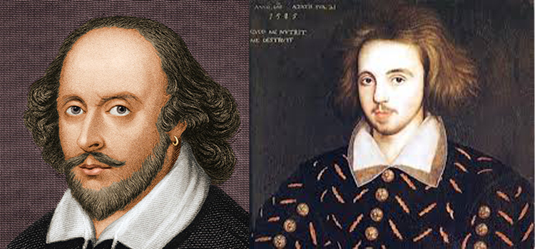 christopher Marlowe and shakespear