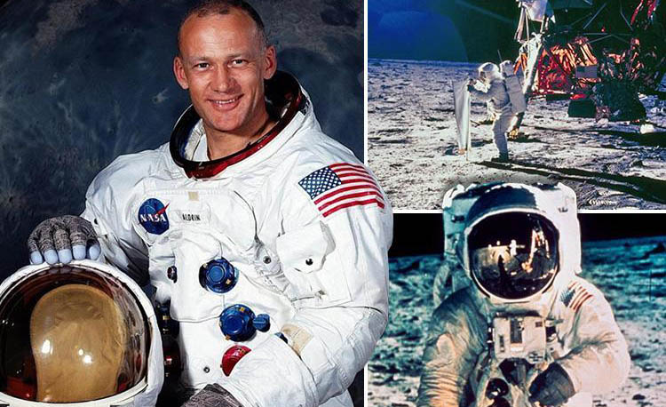 Buzz Aldrin – Second Man on the Moon