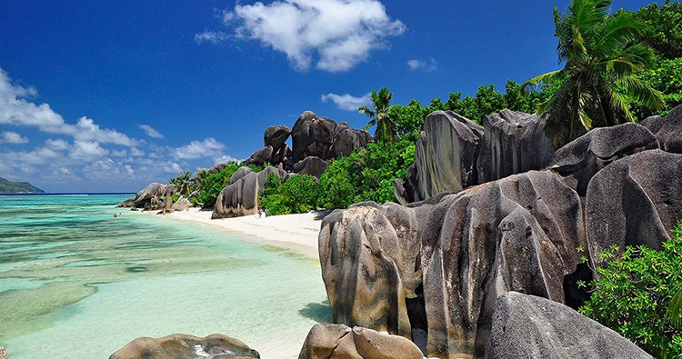 Anse Source d'Argent, La Digue Island, Republic of Seychelles